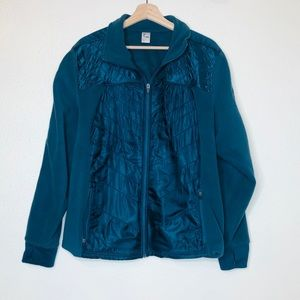 Old Navy Blue Quilted Zip Up Jacket
